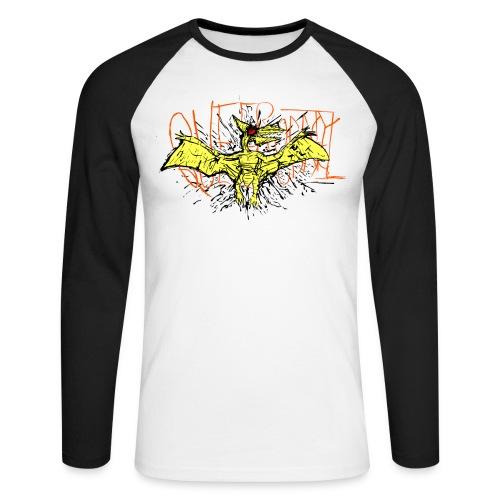Queerodactyl - Men's Long Sleeve Baseball T-Shirt