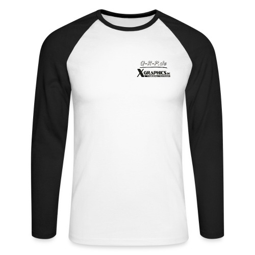 club4zrwerbung kopie - Männer Baseballshirt langarm
