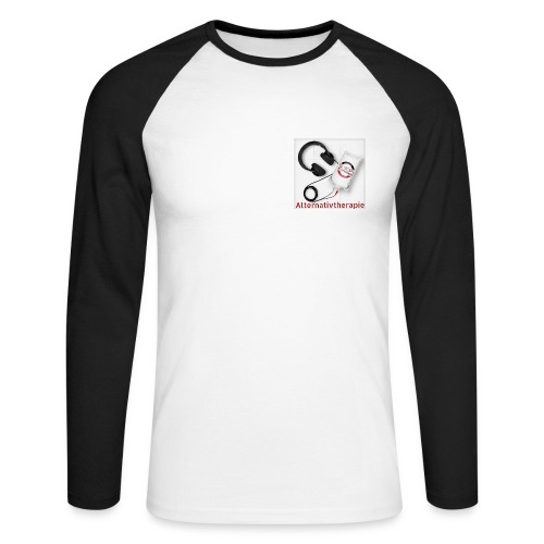 Base-Shirt Alternativtherapie - Männer Baseballshirt langarm