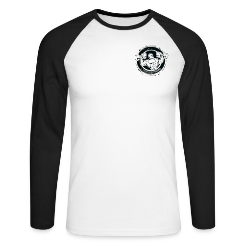 Fitness supplements - Langærmet herre-baseballshirt