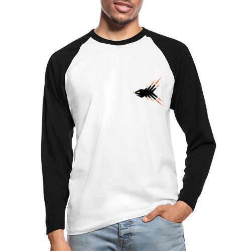Splitterfish - Männer Baseballshirt langarm