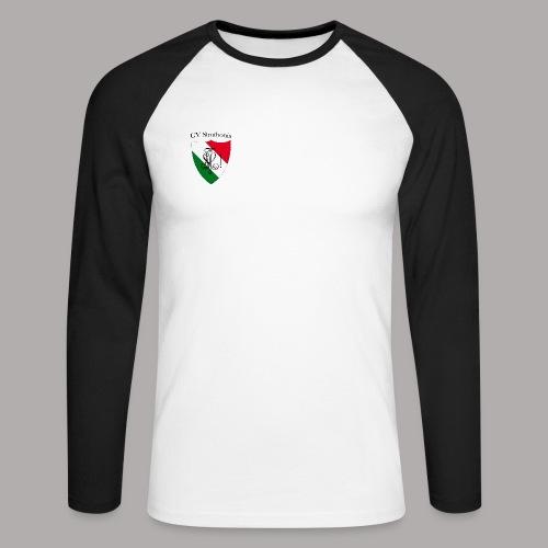 Wappen Struthonia (vorne) - Männer Baseballshirt langarm