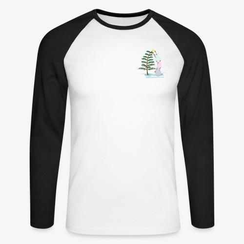 3bonhommesdeneige - Men's Long Sleeve Baseball T-Shirt