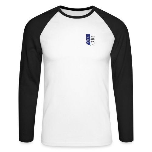 wappen marktvolk - Männer Baseballshirt langarm