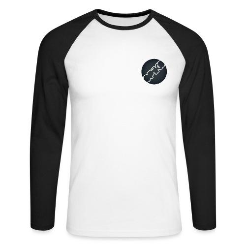 opiko Logo S/W - Männer Baseballshirt langarm