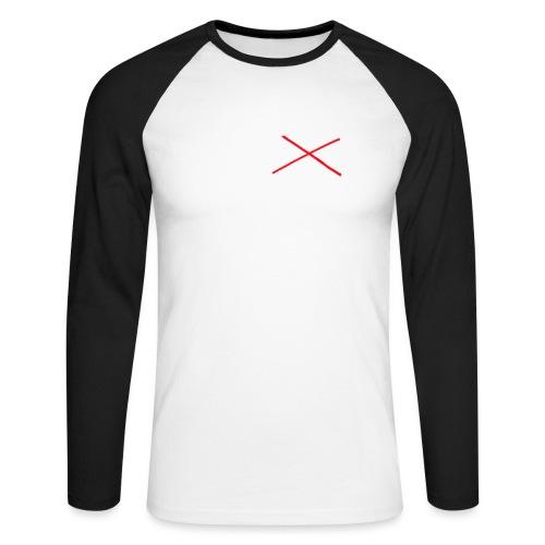 I Love MILK - Mannen baseballshirt lange mouw