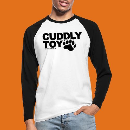 cuddly toy new - Men's Long Sleeve Baseball T-Shirt