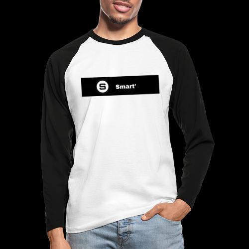 Smart' BOLD - Men's Long Sleeve Baseball T-Shirt
