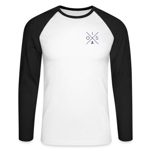 OIS logo - Mannen baseballshirt lange mouw