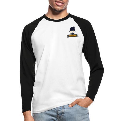 TecInc Twitch Logo - Langærmet herre-baseballshirt