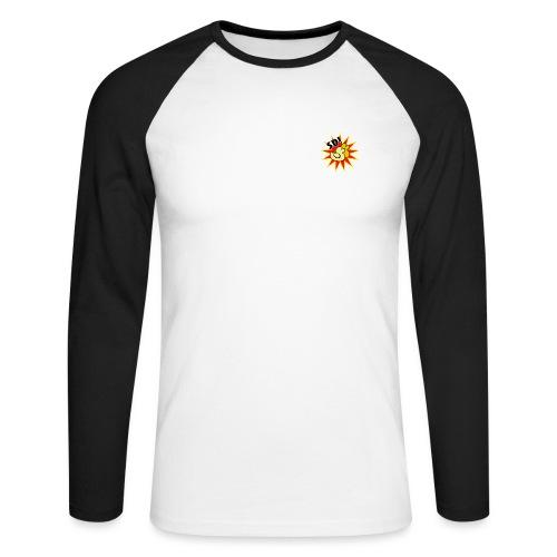 SD! Logo - Men's Long Sleeve Baseball T-Shirt