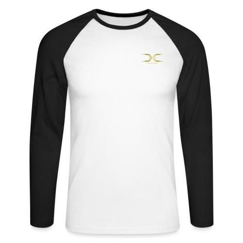 Triple Cross - Men's Long Sleeve Baseball T-Shirt