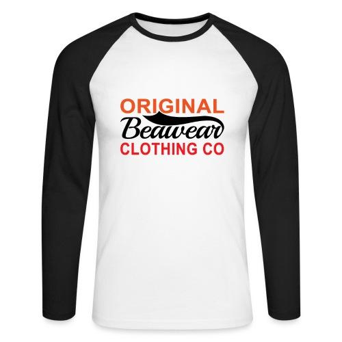 Original Beawear Clothing Co - Men's Long Sleeve Baseball T-Shirt
