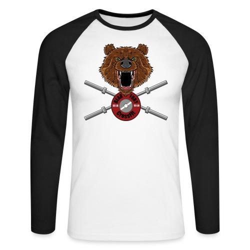 Bear Fury Crossfit - T-shirt baseball manches longues Homme