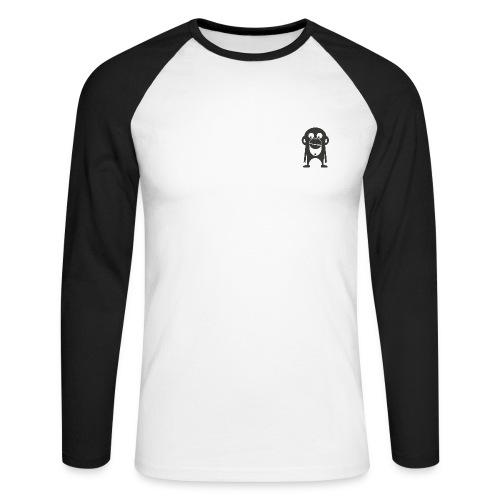 Der Bamberger Affe - Männer Baseballshirt langarm