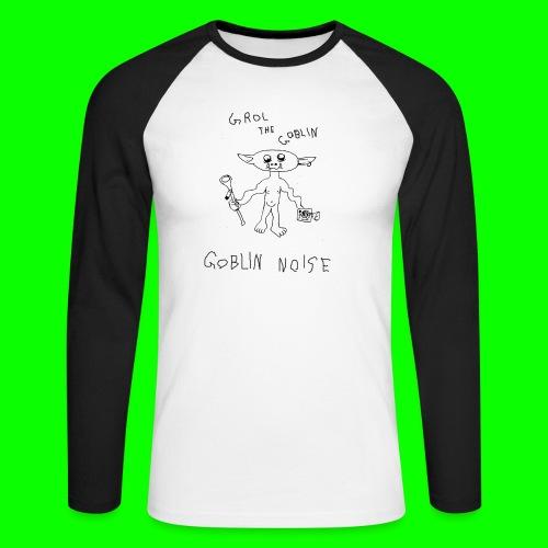 Goblin Noise - Men's Long Sleeve Baseball T-Shirt