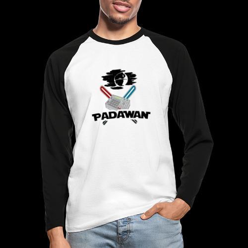 Padawan Blanc - T-shirt baseball manches longues Homme