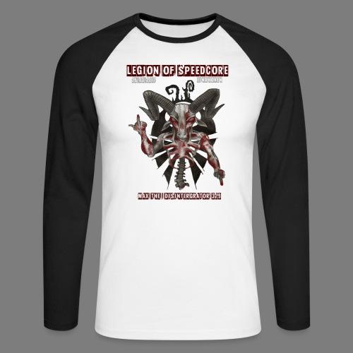 legion_line_up_final_ - Mannen baseballshirt lange mouw