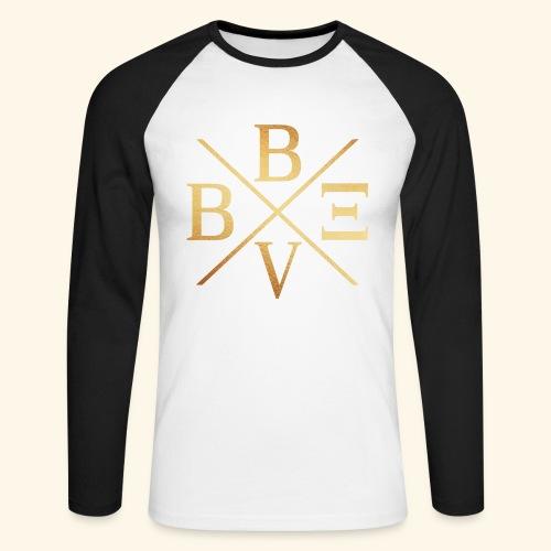 BVBE Gold X Factor - Men's Long Sleeve Baseball T-Shirt