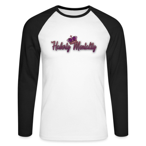 Haberty Mentality - T-shirt baseball manches longues Homme