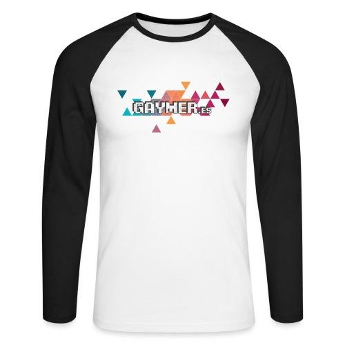 Logo Gaymer.es - Raglán manga larga hombre