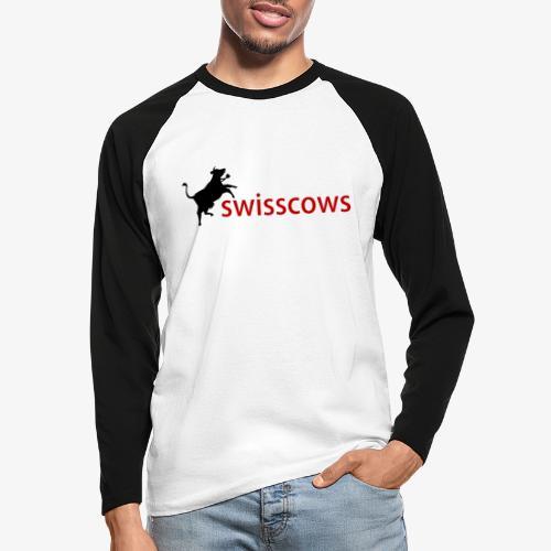 Swisscows - Männer Baseballshirt langarm