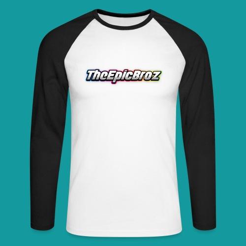 TheEpicBroz - Mannen baseballshirt lange mouw