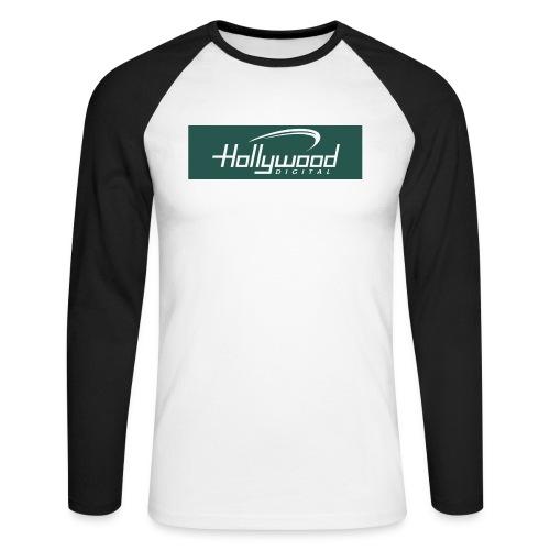 hollywood - Männer Baseballshirt langarm