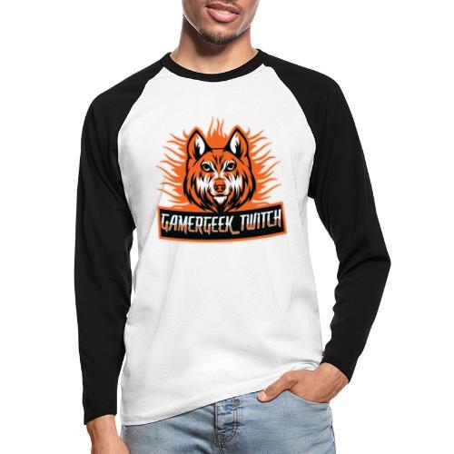 GamerGeek Logo XXXL - Männer Baseballshirt langarm