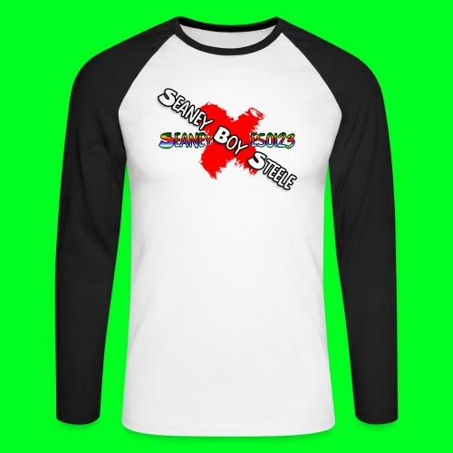 Seaney G BOY STEELE - Men's Long Sleeve Baseball T-Shirt