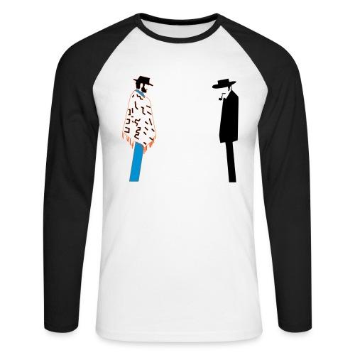 Bad - T-shirt baseball manches longues Homme