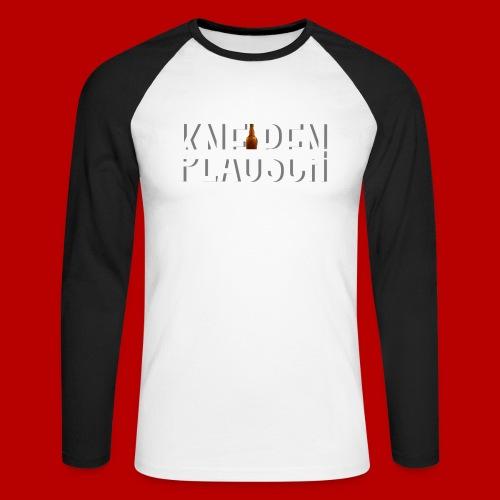 Kneipenplausch Big Edition - Männer Baseballshirt langarm