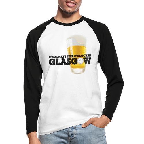 Beer O Clock - Men's Long Sleeve Baseball T-Shirt