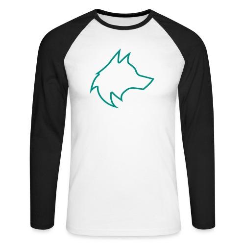 Wolf Pack Logo (NEW) - Men's Long Sleeve Baseball T-Shirt