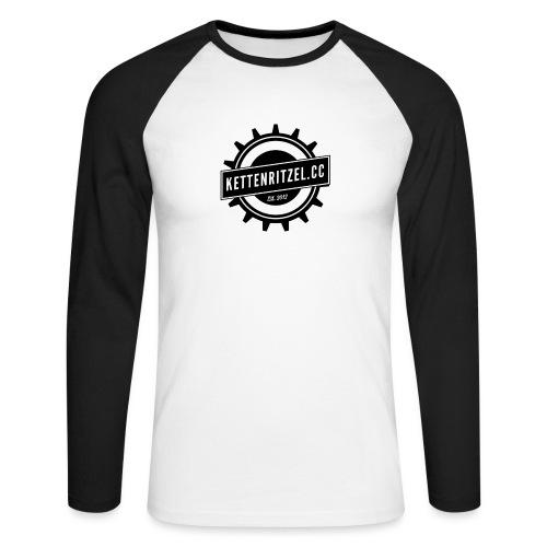Kettenritzel Hoodie klassisch - Männer Baseballshirt langarm