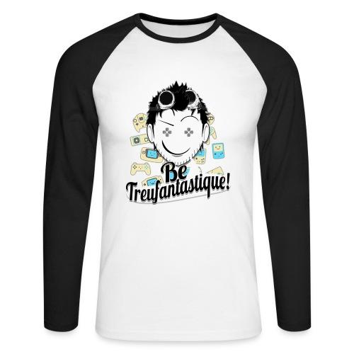 Be Treufantastique - T-shirt baseball manches longues Homme