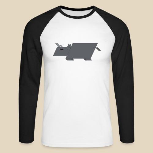Rhino - T-shirt baseball manches longues Homme