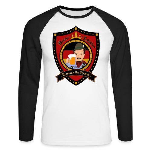 Hermann the German - Men's Long Sleeve Baseball T-Shirt