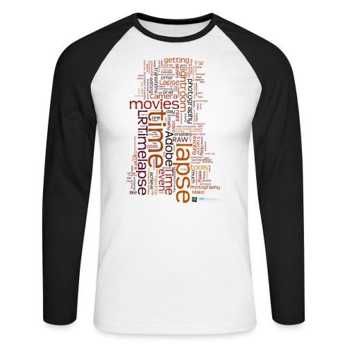 LRTImelapse Shirt Tags 3 png - Männer Baseballshirt langarm