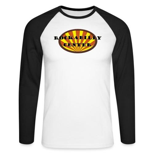 Rockabilly Center - Männer Baseballshirt langarm