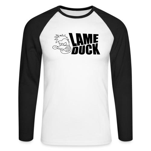 ldlogoblack - Men's Long Sleeve Baseball T-Shirt