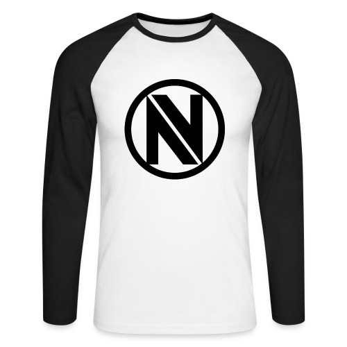 NV png - Men's Long Sleeve Baseball T-Shirt