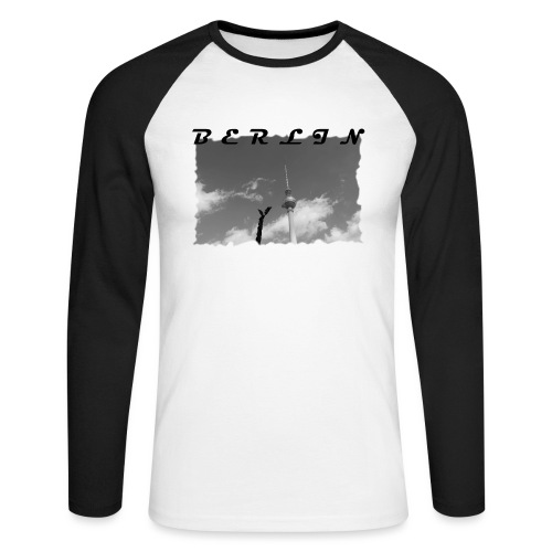 BERLIN #1 - Männer Baseballshirt langarm