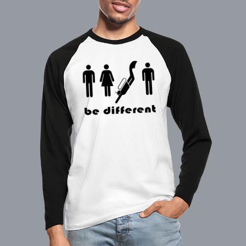 be different - Männer Baseballshirt langarm