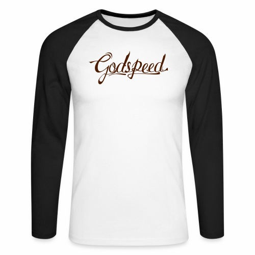 Godspeed 2 - Miesten pitkähihainen baseballpaita
