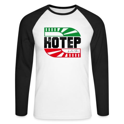 HOTEP LOGO panaf png - T-shirt baseball manches longues Homme