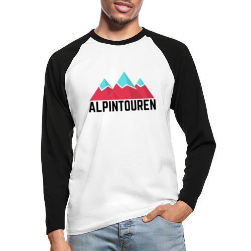 Alpintouren - Männer Baseballshirt langarm