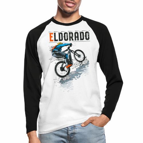 E MTB ELDORADO - Männer Baseballshirt langarm