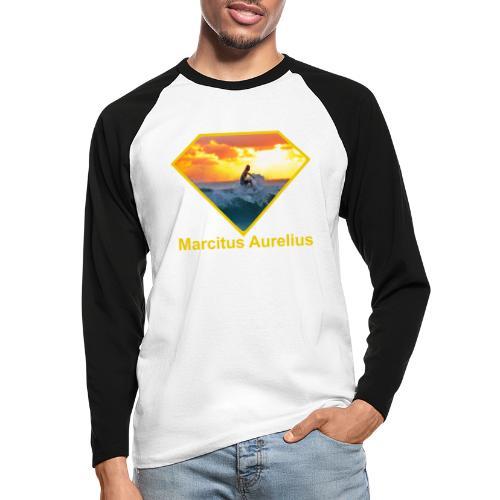 Surfer - Männer Baseballshirt langarm
