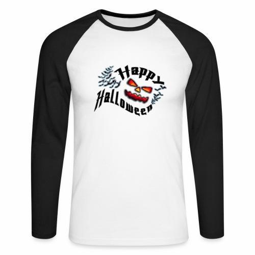 Halloween tee-shirt Homme T-shirt Premium Homme - T-shirt baseball manches longues Homme